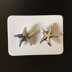 New Beach Ocean Starfish Post Earrings